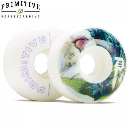 【PRIMITIVE プリミティブ スケボー ウィール】HUMMING TEAM WHEELS 101A【53mm】NO11