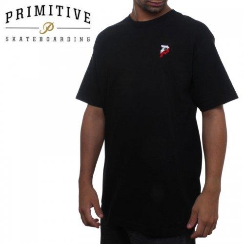 【PRIMITIVE プリミティブ スケボー Tシャツ】DIRTY P UNION TEE【ブラック】NO33