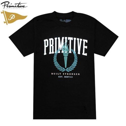 【PRIMITIVE プリミティブ スケボー Tシャツ】ATHENS TEE【ブラック】NO36