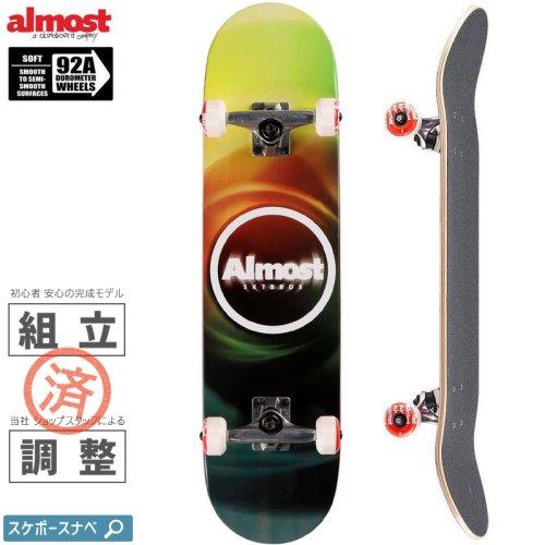 【オルモスト ALMOST スケボー コンプリート】BLUR RESIN COMPLETE 92A【7.75インチ】NO51