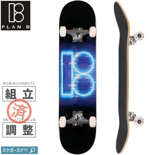 【PLAN-B プランビー スケートボード コンプリート】TEAM NIGHT MOVES NEW COMPLETE【8.0インチ】NO29