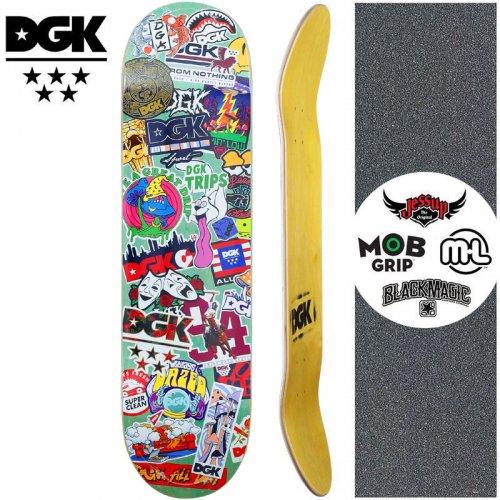 【ディージーケー DGK スケートボード デッキ】STIX DECK【7.8インチ】NO347