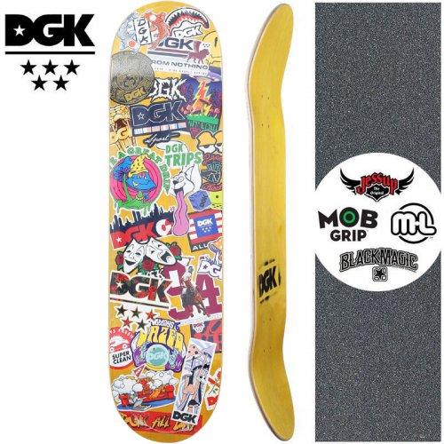 【ディージーケー DGK スケートボード デッキ】STIX DECK【8.0インチ】NO348