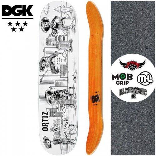 【ディージーケー DGK スケートボード デッキ】MASHUP ORTIZ DECK【7.8インチ】NO351