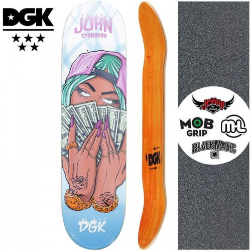 【ディージーケー DGK スケートボード デッキ】MASHUP SHANAHAN DECK【8.06インチ】NO352