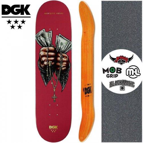 【ディージーケー DGK スケートボード デッキ】MASHUP QUISE DECK【8.06インチ】NO353