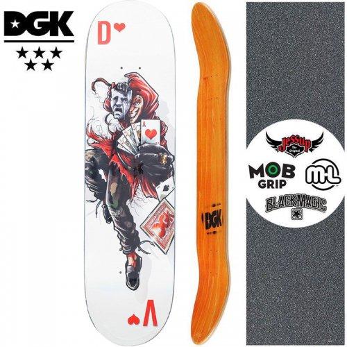【ディージーケー DGK スケートボード デッキ】MASHUP VAUGHN DECK【8.1インチ】NO354