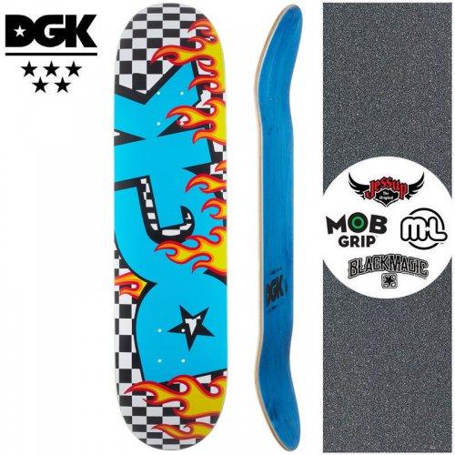 【ディージーケー DGK スケートボード デッキ】ON FIRE DECK【8.06インチ】NO357