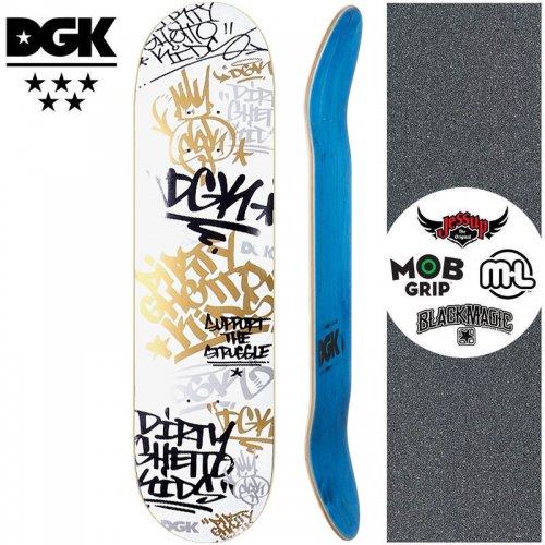 【ディージーケー DGK スケートボード デッキ】TAG DECK【7.9インチ】NO358