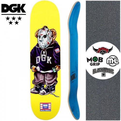 【ディージーケー DGK スケートボード デッキ】THE PLUG DECK【8.06インチ】NO360