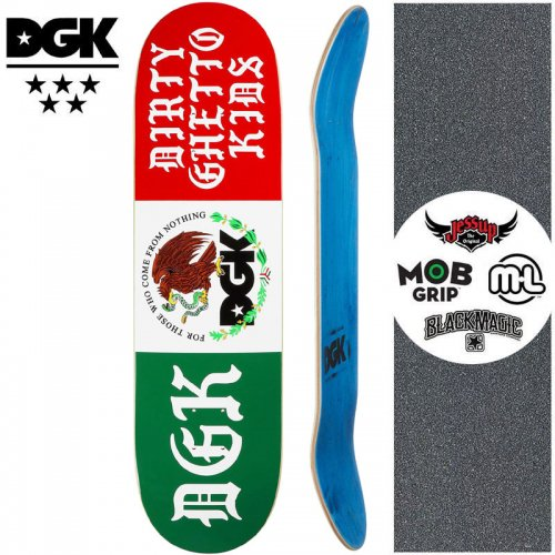 【ディージーケー DGK スケートボード デッキ】COAT OF ARMS DECK【8.0インチ】NO361