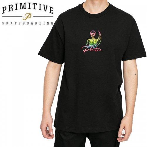 【PRIMITIVE プリミティブ スケボー Tシャツ】SIGNS TEE【ブラック】NO37