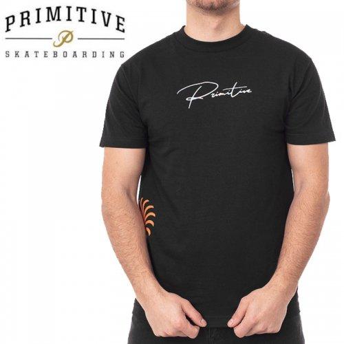 【PRIMITIVE プリミティブ スケボー Tシャツ】ENSEMBLE TEE【ブラック】NO38