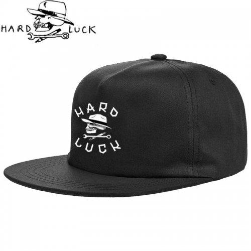【HARD LACK ハードラック スケボー キャップ】GIANT OG LOGO SNAPBACK HAT ブラック NO3
