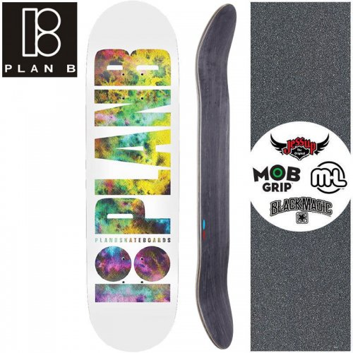 【プランビー PLAN-B スケートボード デッキ】TEAM DUFFY OG DECK【8.0インチ】NO183
