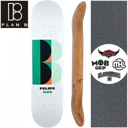 【プランビー PLAN-B スケートボード デッキ】FELIPE DECO DECK【7.75インチ】NO185