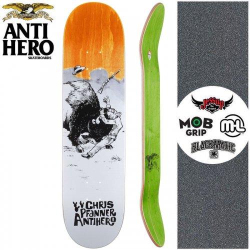 【ANTI HERO アンタイヒーロー スケートボード デッキ】PFANNER WEST WASN'T DECK【8.06インチ】オレンジ NO151
