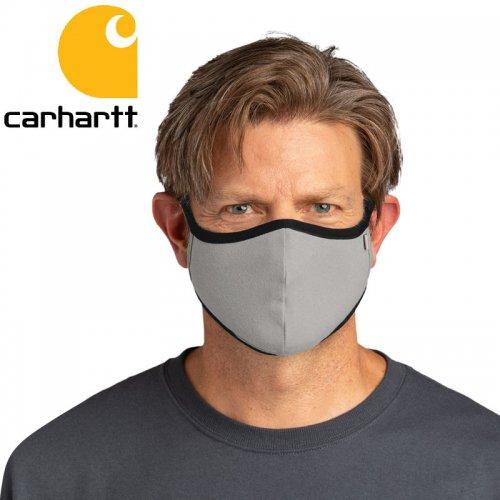【カーハート CARHARTT 小物 マスク】COTTON BLEND EAR LOOP FACE MASK グレー NO1