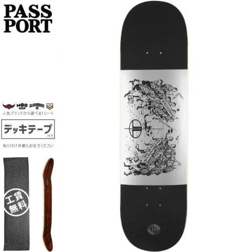 【PASS~PORT パスポート スケートボード デッキ】LOW LIFE L.L.F.C DECK【8.0インチ】NO39