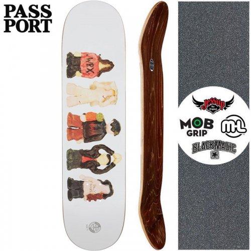 【PASS~PORT パスポート スケートボード デッキ】LOW LIFE CERAMICS DECK【7.875インチ】NO40