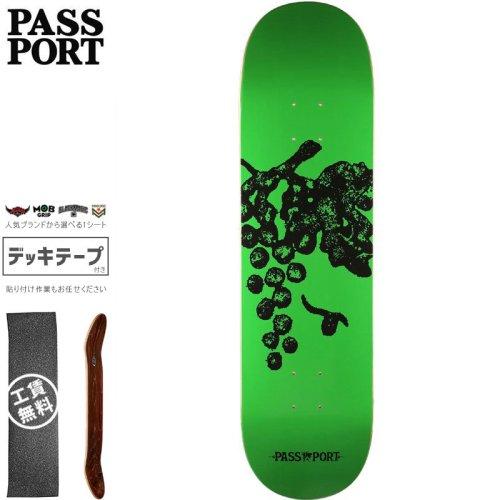 【PASS~PORT パスポート スケートボード デッキ】LIFE OF LEISURE GRAPES DECK【7.875インチ】NO44