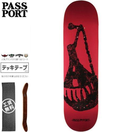 【PASS~PORT パスポート スケートボード デッキ】LIFE OF LEISURE DEMIJOHN DECK【8.0インチ】NO46