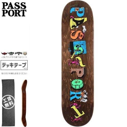 【PASS~PORT パスポート スケートボード デッキ】PP LOOT DECK【8.0インチ】NO47