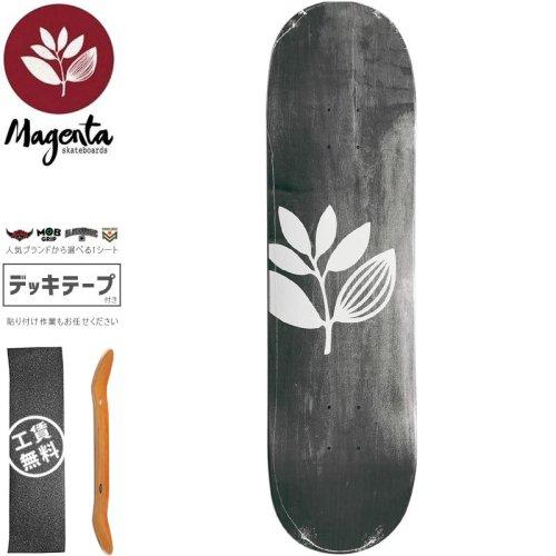 【マゼンタ MAGENTA スケートボード デッキ】TEAM WOOD STAIN DECK【7.75インチ】【7.8インチ】【8.0インチ】【8.125インチ】ブラック NO86