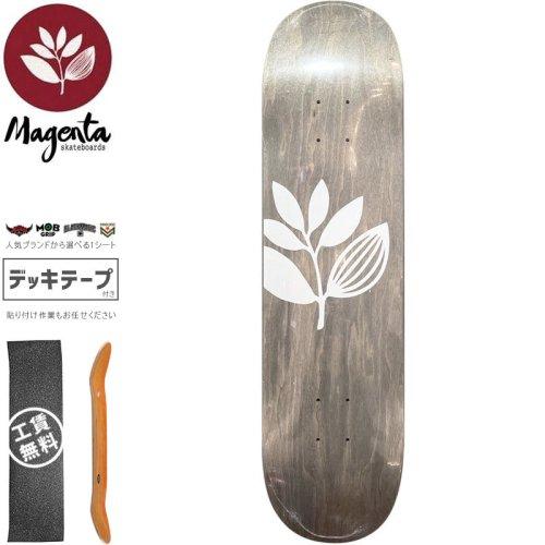 【マゼンタ MAGENTA スケートボード デッキ】TEAM WOOD STAIN DECK【7.75インチ】【8.0インチ】【8.125インチ】グレー NO87