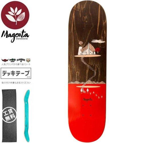 【マゼンタ MAGENTA スケートボード デッキ】VALLS LANDSCAPE DECK【8.0インチ】NO92