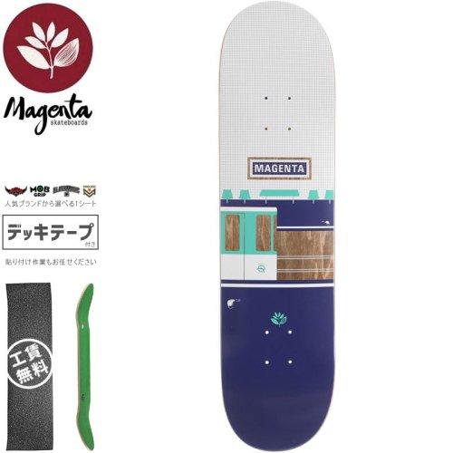 【マゼンタ MAGENTA スケートボード デッキ】STATION DECK【7.75インチ】NO96
