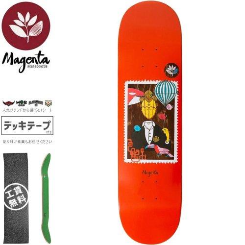 【マゼンタ MAGENTA スケートボード デッキ】MEDLEY DECK【8.0インチ】NO97