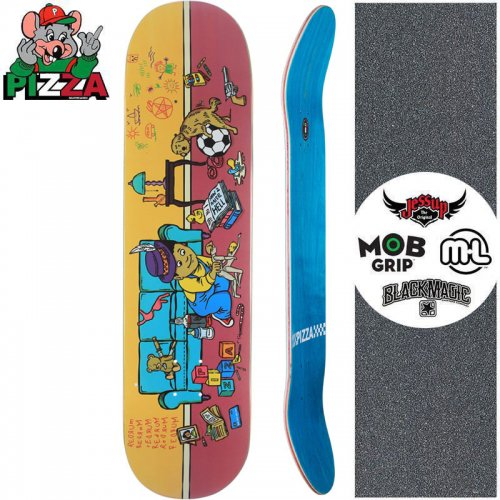 【PIZZA SKATEBOARDS ピザ スケートボード デッキ】DAY CARE DECK【8.25インチ】NO30