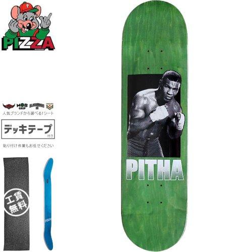 【PIZZA SKATEBOARDS ピザ スケートボード デッキ】PITHA DECK【8.25インチ】グリーン NO32