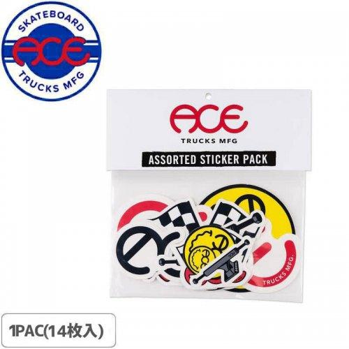 【ACE TRUCKS エース トラック スケボー ステッカー】ASSORTED STICKER PACK NO26