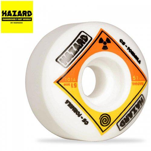 【HAZARD ハザード スケボー ウィール】BIO CS RADIAL WHEELS【53mm】NO2