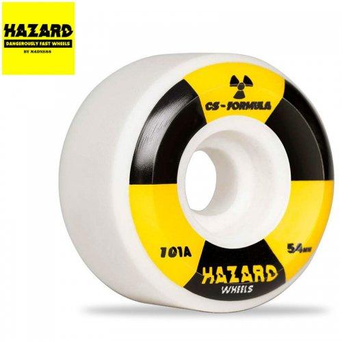 【HAZARD ハザード スケボー ウィール】RADIO ACTIVE CS CONICAL WHEEL【52mm】【54mm】【56mm】NO3