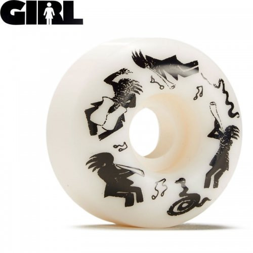 【GIRL SKATEBOARD ガール スケートボード ウィール】KOKOPELLI STAPLE WHEEL 99A【52mm】NO45