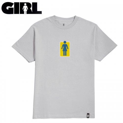 【ガール GIRLSKATEBOARD スケボー Tシャツ】HERITAGE UNBOXED TEE【シルバー】NO319