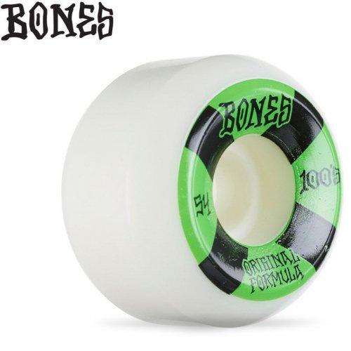 【ボーンズ BONES スケボー ウィール】OG FORMULA 100A #4 V5 SIDECUTS WHEELS【54mm】NO248