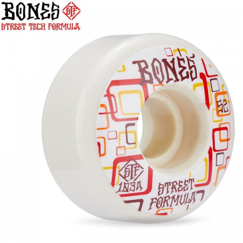 【ボーンズ BONES スケボー ウィール】STF RETROS 103A V3 SLIMS WHEELS【52mm】NO249