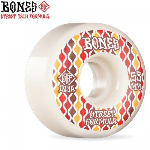 【ボーンズ BONES スケボー ウィール】STF RETROS 103A V2 LOCKS WHEELS【52mm】NO250