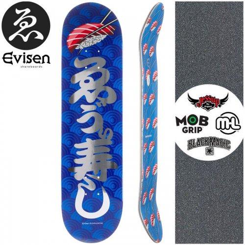 【EVISEN エビセン スケートボード デッキ】EVI SUSHI DECK【8.0インチ】【8.125インチ】NO68