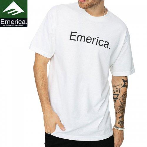 【エメリカ EMERICA スケボー Tシャツ】EM X SC SCREAMING TEE【ホワイト】NO149