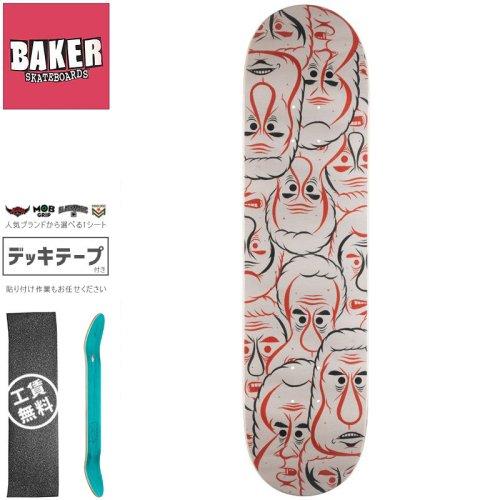 【ベーカー BAKER スケートボード デッキ】STEAMER BARRY DECK【8.0インチ】NO297