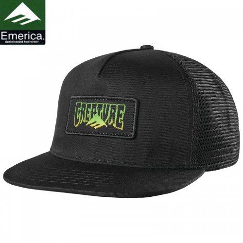 【エメリカ EMERICA キャップ】TRI CREATURE SNAPBACK HAT ブラック NO37