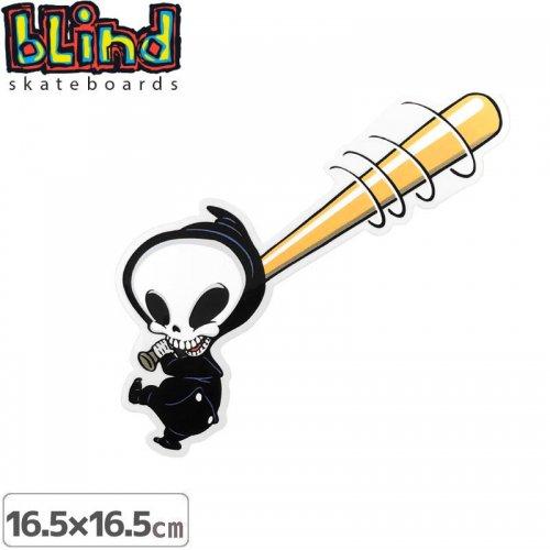 【ブラインド BLIND スケボー ステッカー】SMASHING REAPER STICKER【16.5cm x 16.5cm】NO62
