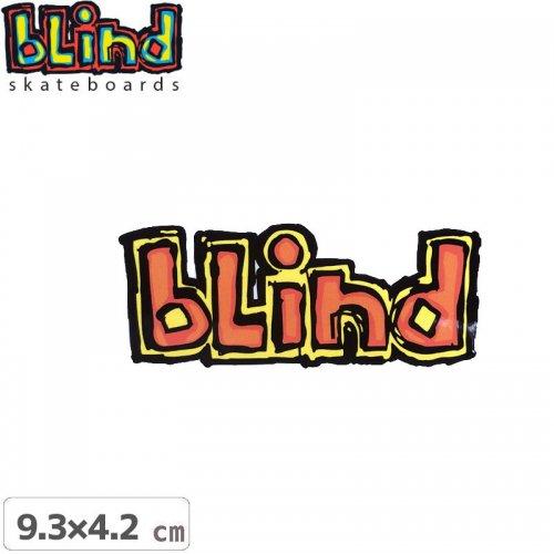【ブラインド BLIND スケボー ステッカー】LOGO STICKER【9.3cm x 4.2cm】NO63