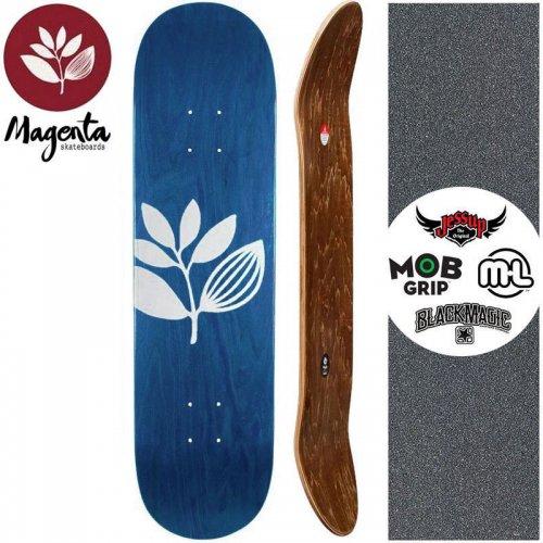 【マゼンタ MAGENTA スケートボード デッキ】TEAM WOOD STAIN DECK 【7.8インチ】【8.0インチ】コバルトブルー NO99