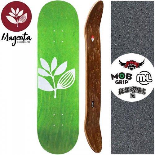 【マゼンタ MAGENTA スケートボード デッキ】TEAM WOOD STAIN DECK 【7.8インチ】【8.0インチ】リーフグリーン NO100